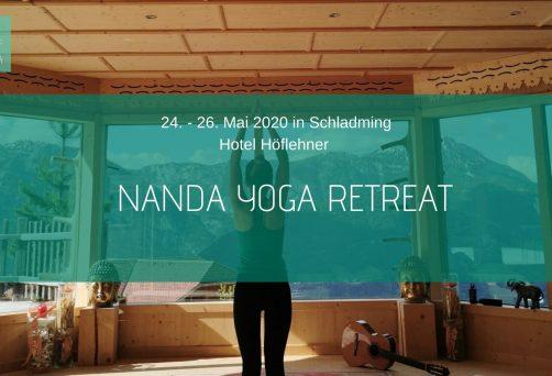 Nanda Yoga Retreat im Hotel Höflehner 05/2020