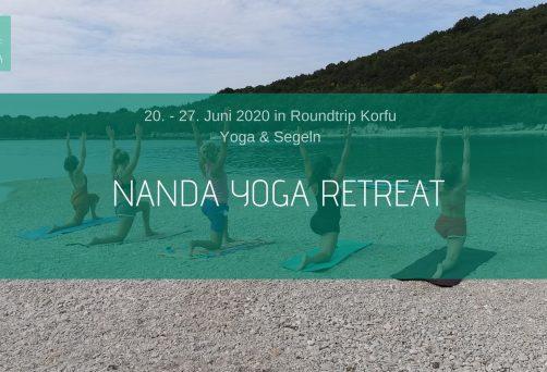 Nanda Yoga & Segel Retreat in Korfu Jun/2020